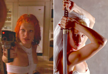 Leeloo vs Black Mamba