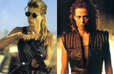 Sarah Connor vs Ellen Ripley
