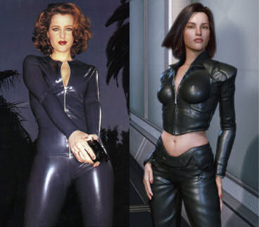 Dana Scully vs Aki Ross