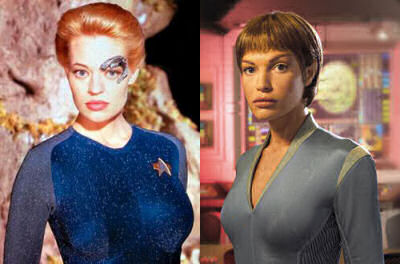Seven of Nine vs T'Pol