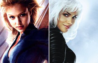 Invisible Woman vs Storm