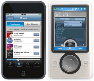 iPod touch vs Zune