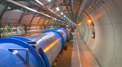 LHC Tunnel Photo 1