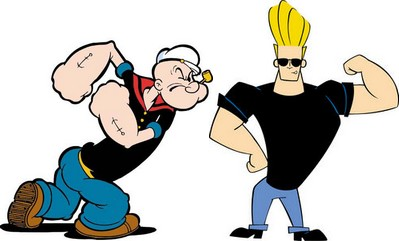 Popeye vs Johnny Bravo