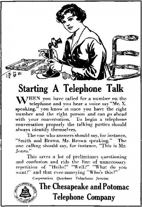 How to use the telephone
