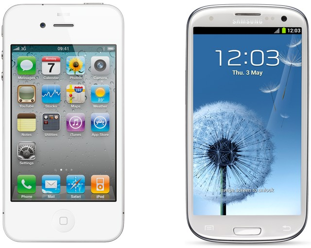 iPhone 5 vs Galaxy S III