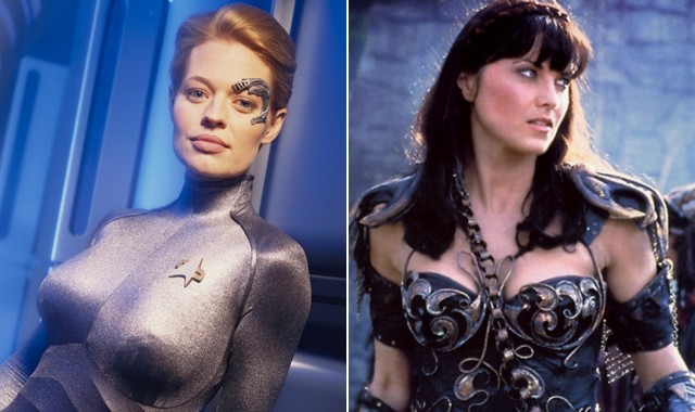 Seven of Nine vs Xena