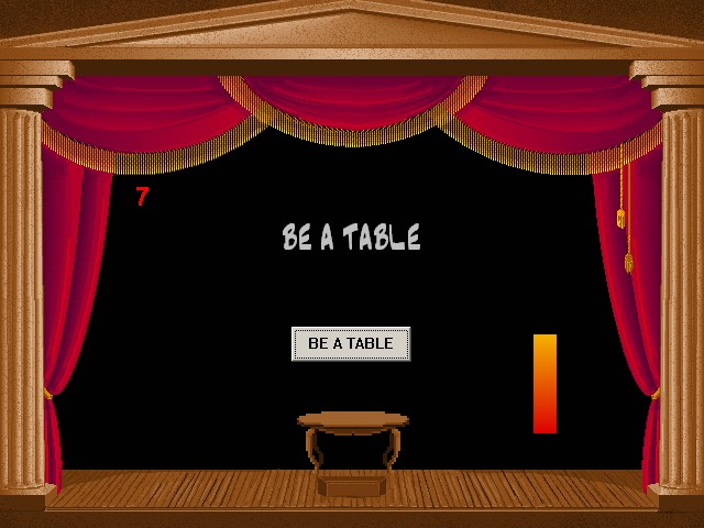 Be a Table