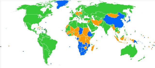 Popular browser by country