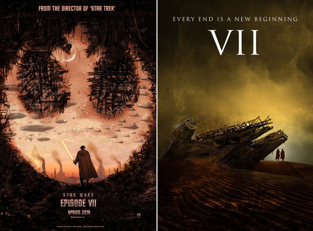 Star Wars fan posters