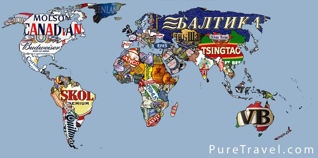 World Beer Map