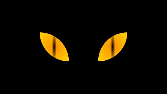 Cat Eyes in CSS