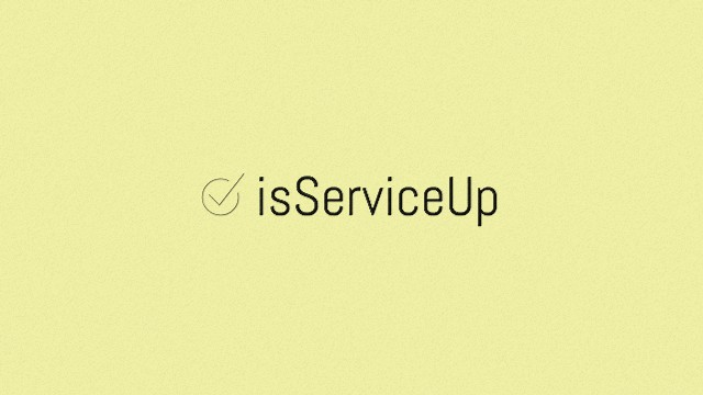 Is Service Up?