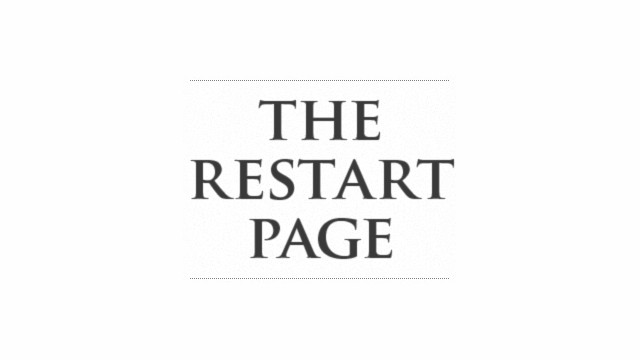 The Restart Page