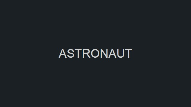 Astronaut screenshot