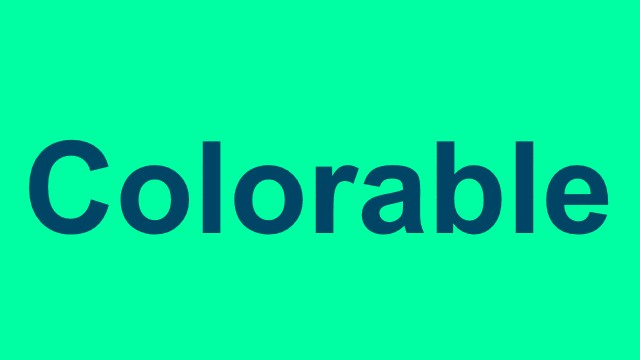 Colorable