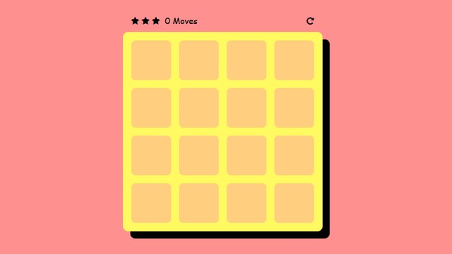 Sweet animated memory game