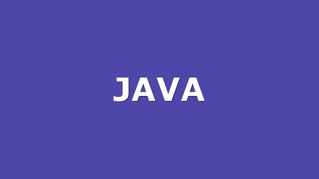 Top 25 Java apps